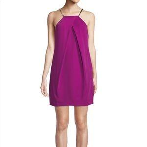 Gorgeous berry colored Trina Turk halter dress!